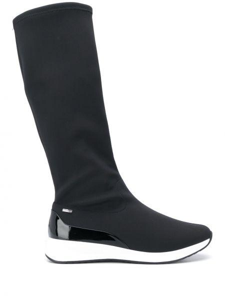 Сапоги на высоком каблуке сапоги-чулки на плоской подошве Hogl
