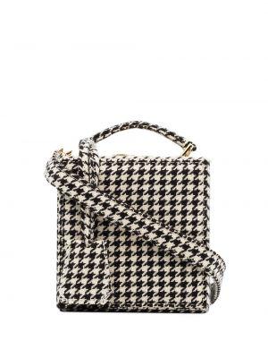 Кожаная сумка - белая Natasha Zinko