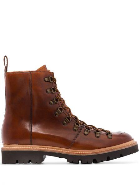 Треккинговые ботинки на шнуровке Grenson