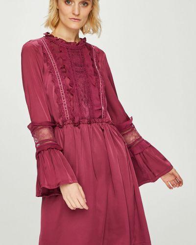 Платье мини с длинными рукавами на молнии Silvian Heach
