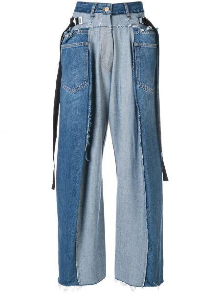 Деловые джинсы с карманами Litkovskaya