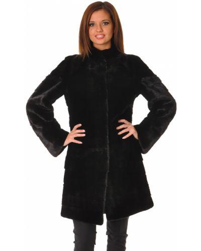 Шуба черная Furry