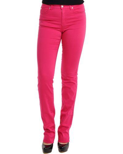 Хлопковые джинсы - розовые Armani Collezioni