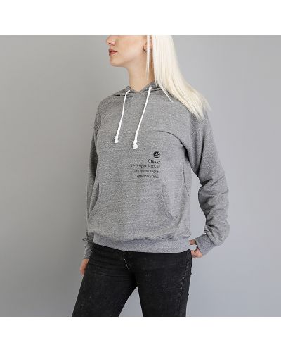 Серый свитер Stussy