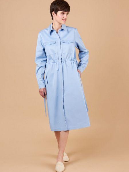 Платье миди с карманами 12storeez