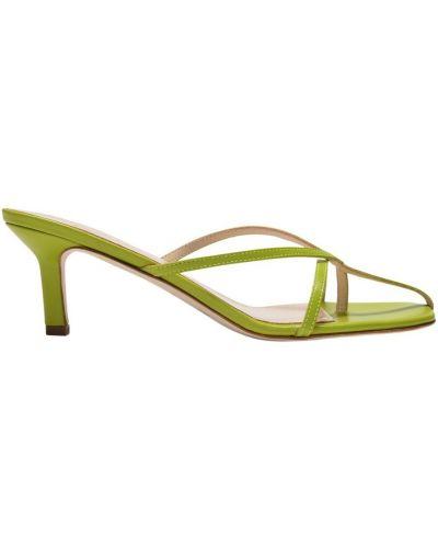 Zielone sandały Elleme