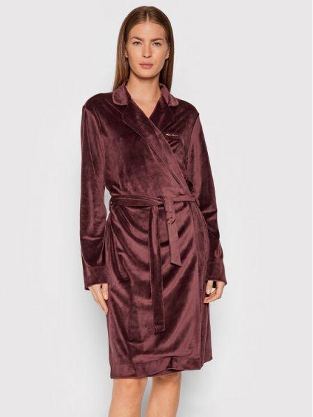 Szlafrok - brązowy Emporio Armani Underwear