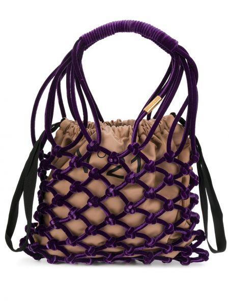 Бархатная сумка-тоут N°21