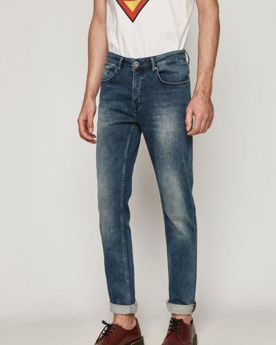 Хлопковые джинсы с карманами на пуговицах Medicine