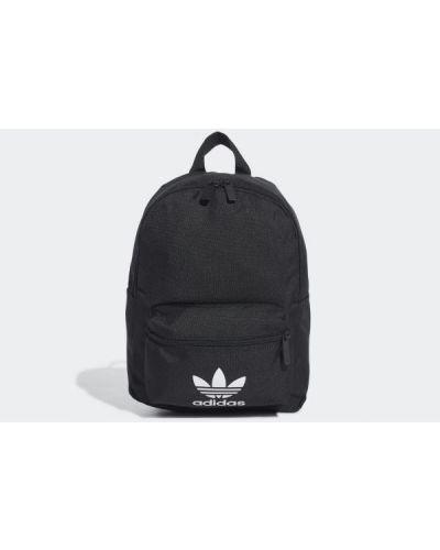 Klasyczny czarny plecak materiałowy Adidas