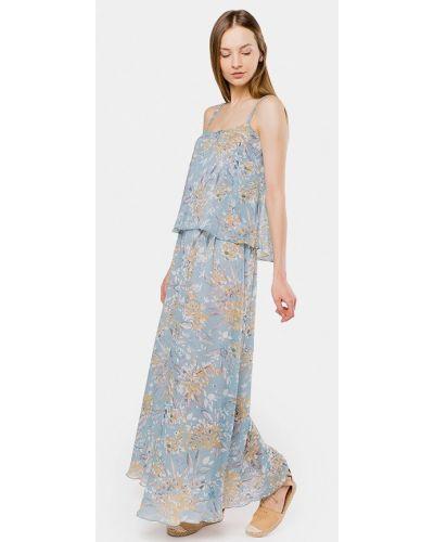 Голубой платье платье-сарафан Mr520