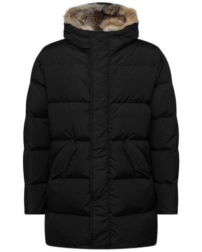 Стеганая пуховая куртка с гусиным пухом Lempelius