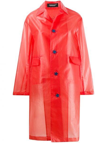 Длинное пальто на пуговицах Undercover