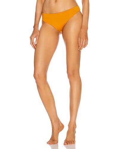 Żółty bikini elegancki Johanna Ortiz
