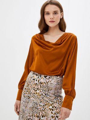 Коричневая блузка осенняя Zibi London