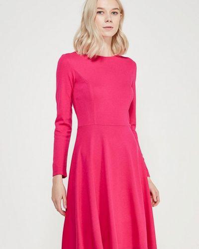Розовое платье осеннее A-a By Ksenia Avakyan