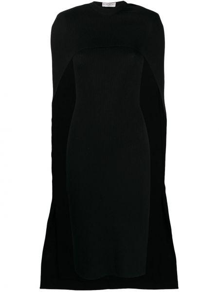 Trykotowy wełniany sukienka okrągły dekolt okrągły Givenchy