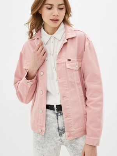 Джинсовая куртка - розовая Rifle