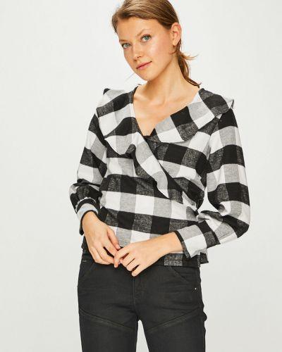 Блузка с запахом из вискозы Trendyol