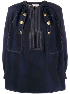 Otwarty bluzka złoto z kołnierzem Givenchy