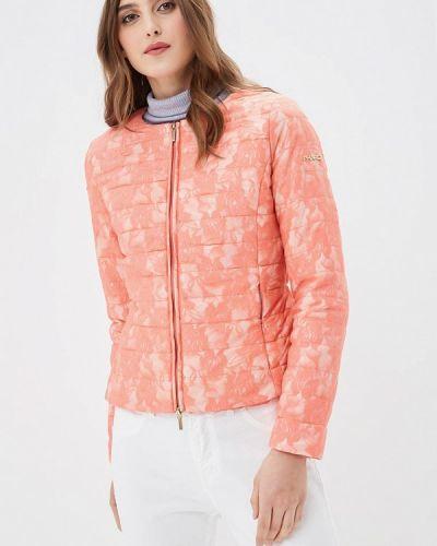 Утепленная куртка весенняя розовая Phard