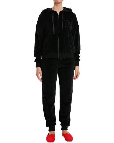 Черный спортивный костюм из полиэстера Iceberg