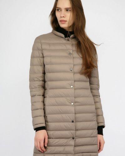 Зимняя куртка осенняя коричневая Monton