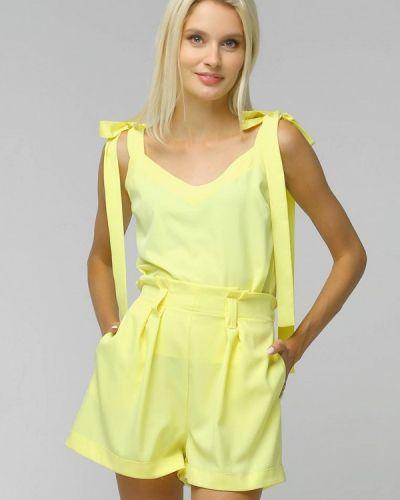 Костюмный желтый костюм Toryz