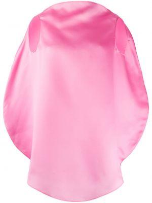 Свободные розовый топ свободного кроя без рукавов Nina Ricci