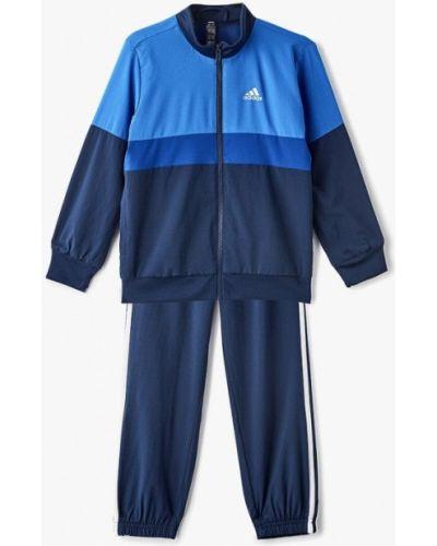 Спортивный костюм синий Adidas