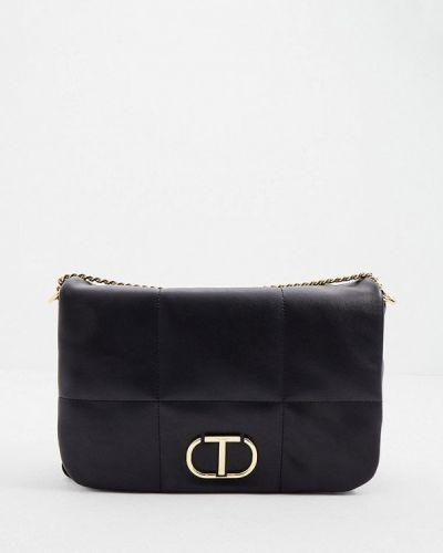 Черная зимняя сумка Twinset Milano