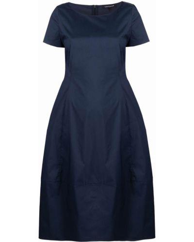 Платье мини короткое - синее Luisa Cerano