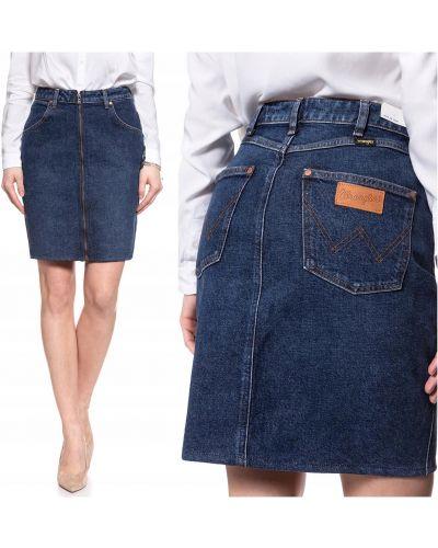 Spódnica jeansowa - niebieska Wrangler