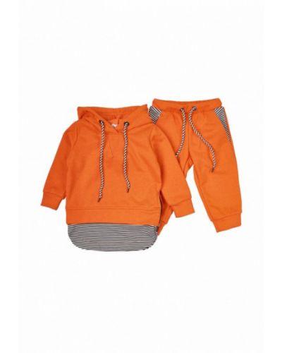 Оранжевый спортивный костюм Mimi Book