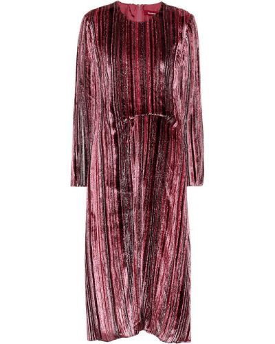 Платье розовое из вискозы Sies Marjan