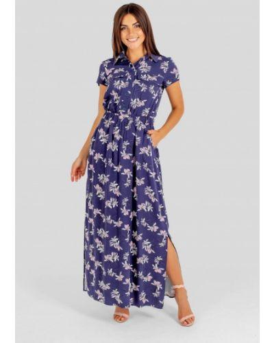 Платье - синее Vsv