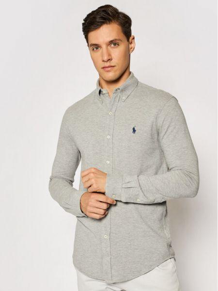 Koszula - szara Polo Ralph Lauren