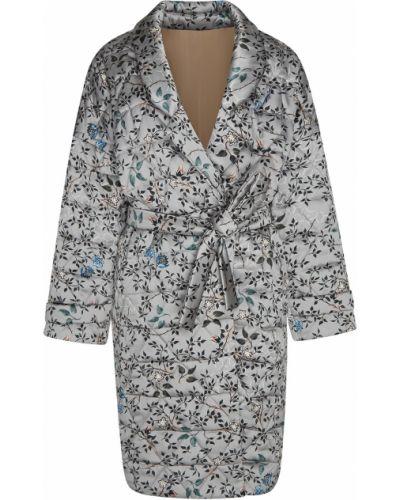 Стеганое пальто с запахом пальто-халат Alena Akhmadullina