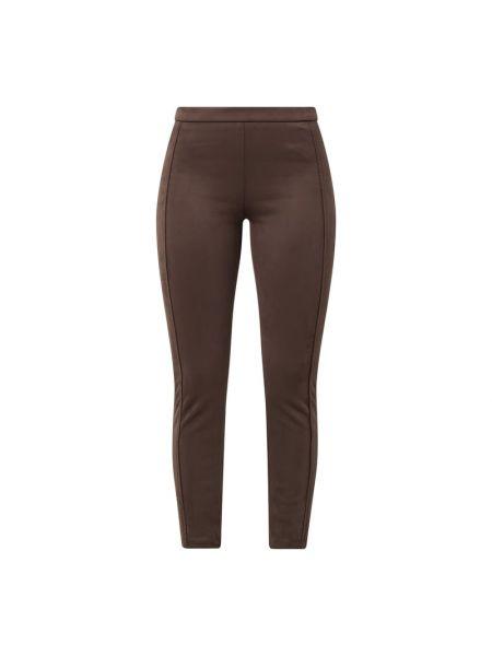 Brązowe spodnie Rosner