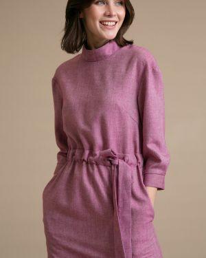 Платье с поясом на пуговицах платье-сарафан Emka
