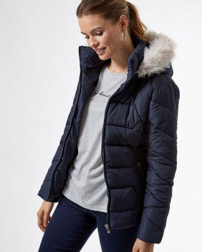 Теплая синяя куртка Dorothy Perkins