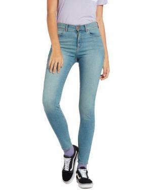 Jeansy z wysokim stanem bawełniane na plażę Wrangler