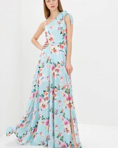 Вечернее платье бирюзовый Mirasezar