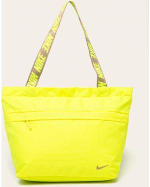 Zielona torebka z nylonu z niskim stanem Nike Sportswear