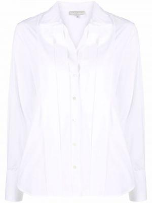 Белая длинная рубашка Antonelli