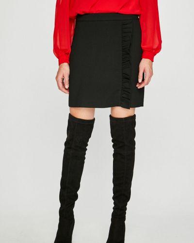 Długo spódnica z wiskozy czarny Vero Moda