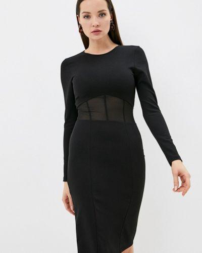 Черное платье-футляр Imperial