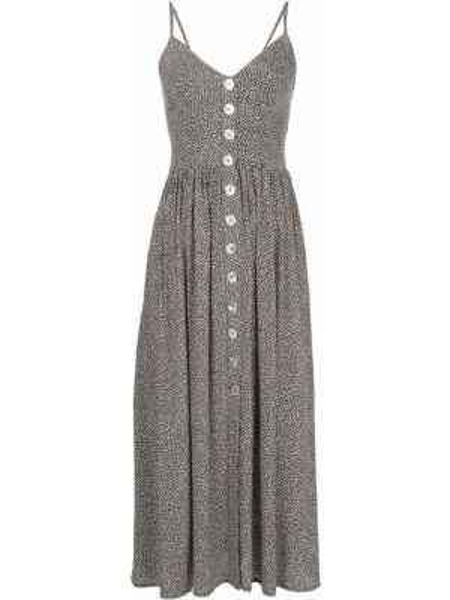 Платье в горошек - бежевое Auguste