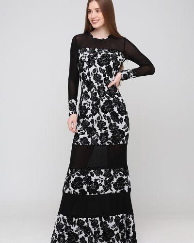Платье свободного кроя - черное Niktan
