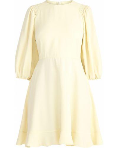 Платье из крепа расклешенное Redvalentino